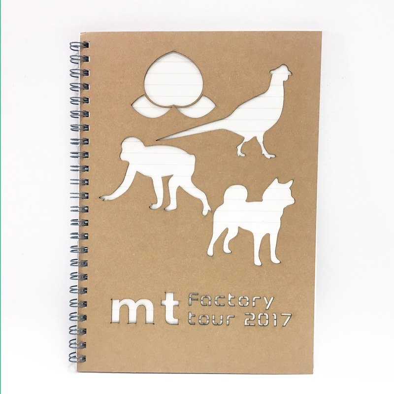 mt factory tour vol.6 Notebook【Momotaro & Animals】Limited Edition