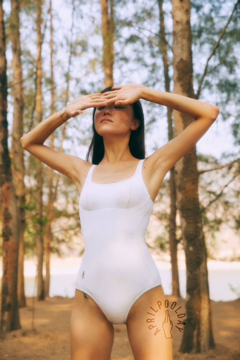 Aprilpoolday Swimwear / NUMBER SEVEN / White / S