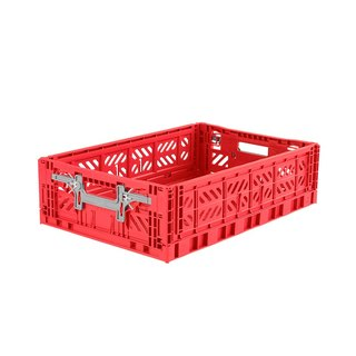 Turkey Aykasa Folding Storage Basket (L15) - Red