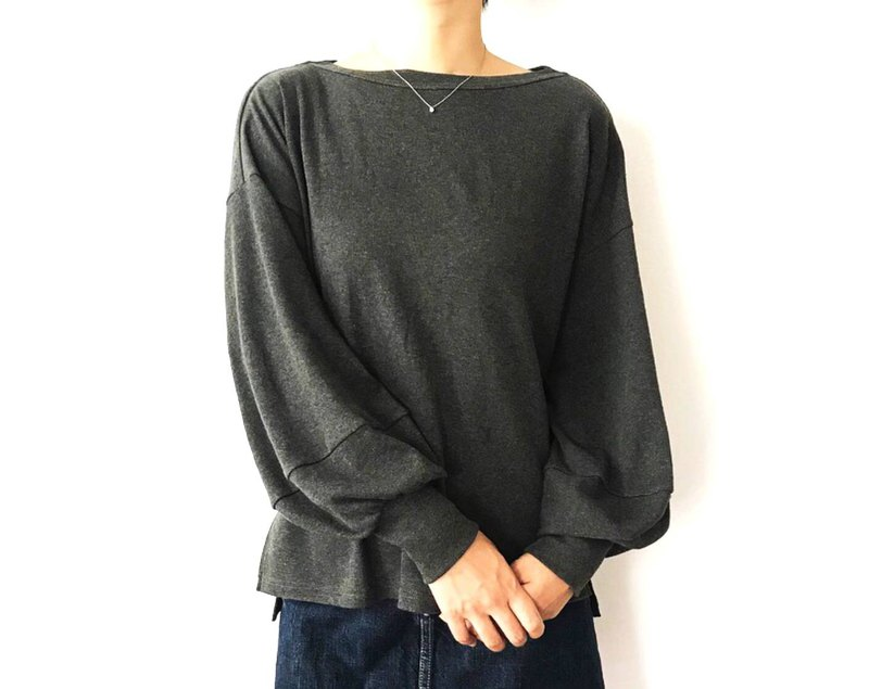 Adult volume pullover stuck to shape