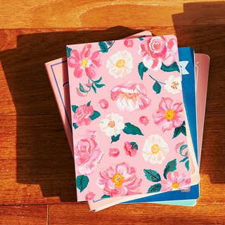 7321 Design Magic Series Natalie Notebook M - Pink Garden, 73D73488