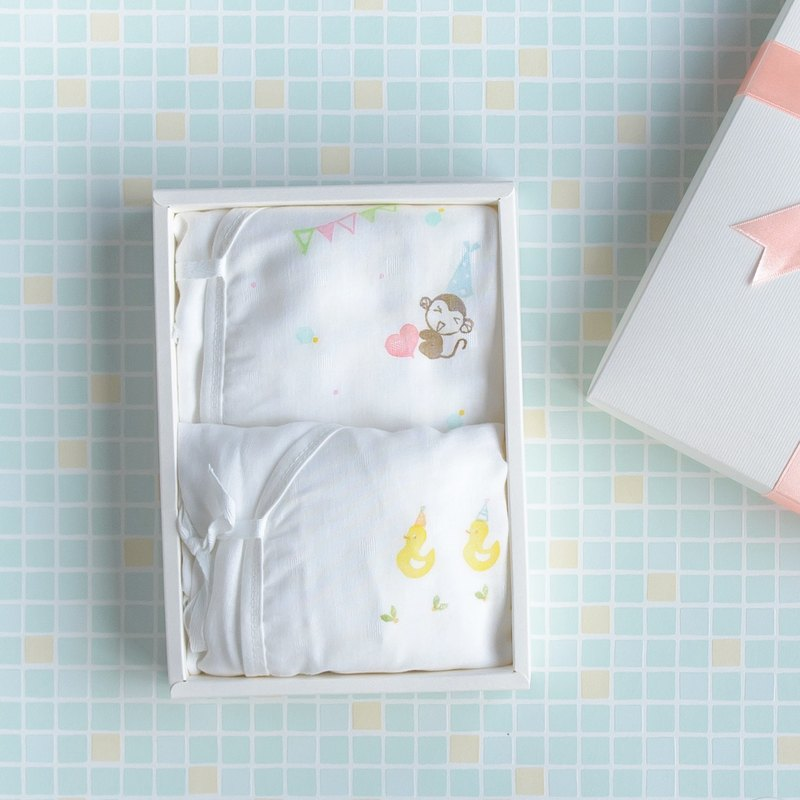 100% cotton gauze robes gift box, don't worry about your baby's belly