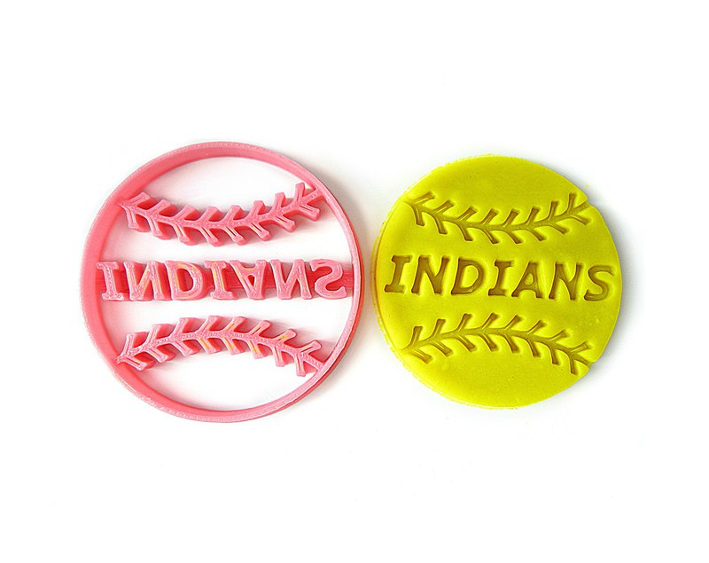 Custom Baseball Softball Cookie Cutter, Personalized with Team / Player Name