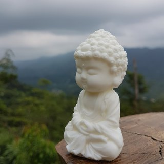 Miniature Small meditation Buddha 1801, Zen/Fairy Garden Supplies DIY Accessory