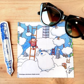 A-market big mud glasses cloth-04 days on the cloud, AMK-BSLC00104
