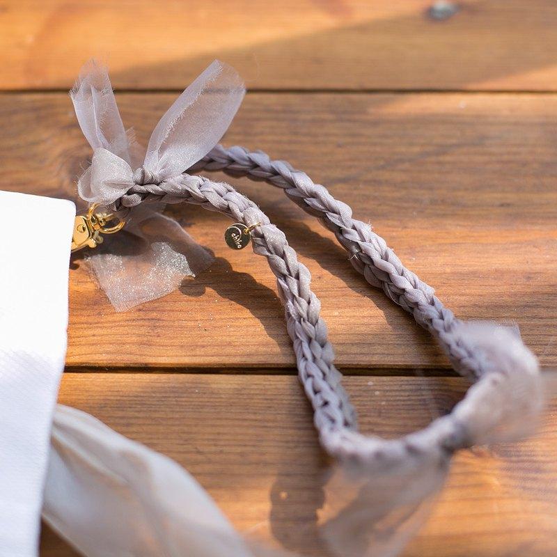 花朵編織手帶|花朵編織手袋/手提包