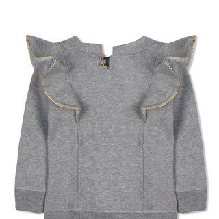 CHANDAMAMA KIDS Gray Dress