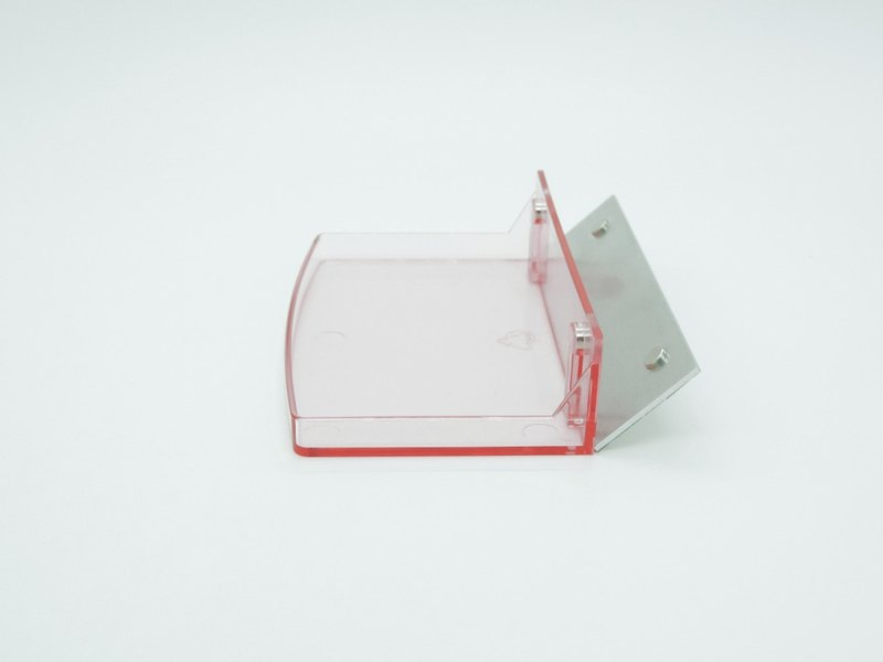 Magnetic dressing stickers _ half-height storage box - pink