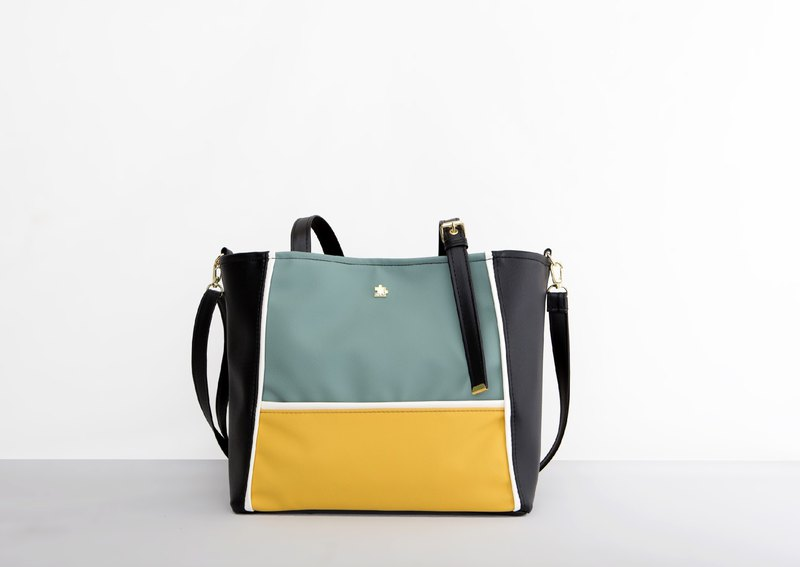 CLM Pupto package - green yellow