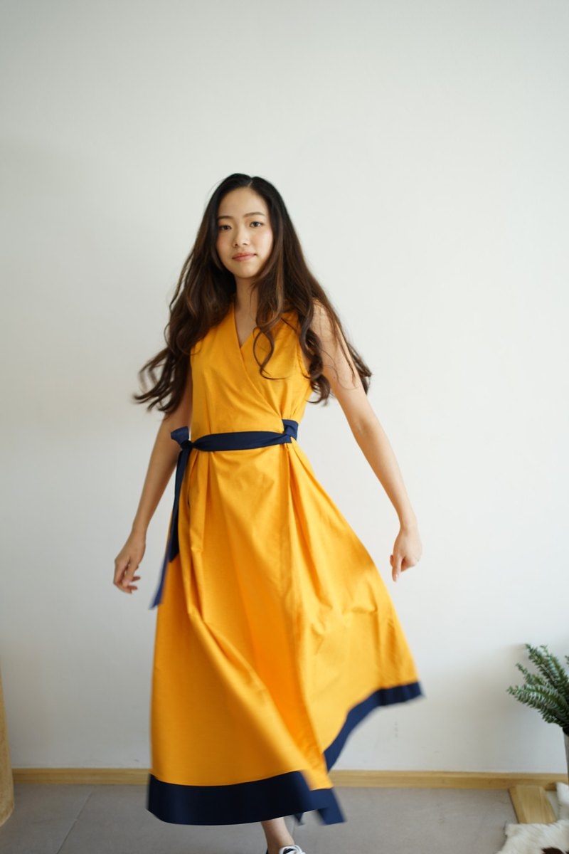 LOOKCHAN DRESS - Yellow