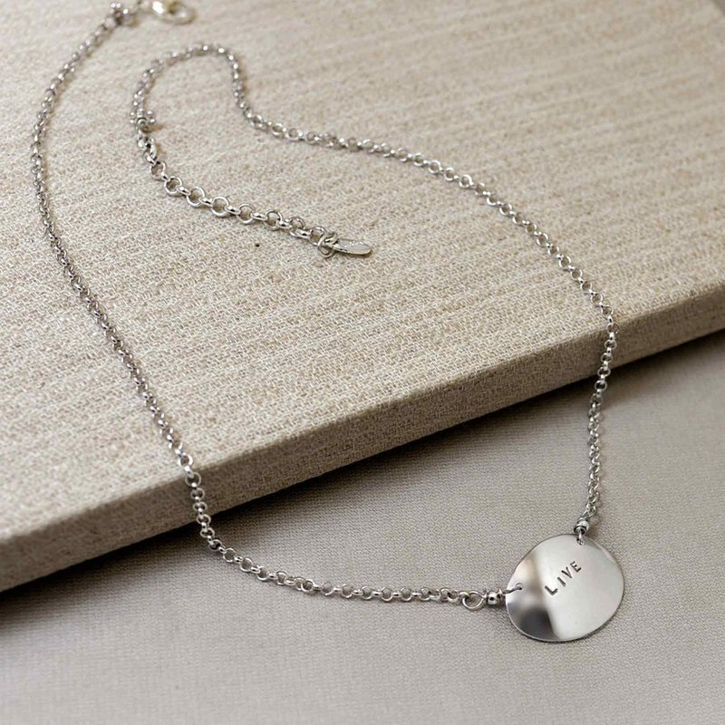 Hit the Necklace - Single Chain | Commemorative Engraving | Customization | Gifts
