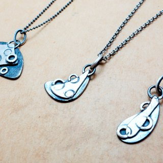 Sterling Silver Puzzle Necklace Co-Circle Party Three Purchase 3540 Yuan Free Lettering