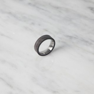 Tube Ring THIN (Dark Grey)