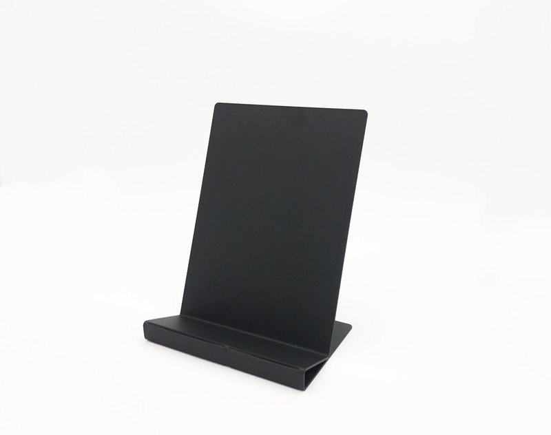 Black design table display shelf magazine display stand DM rack introverted elegant rack