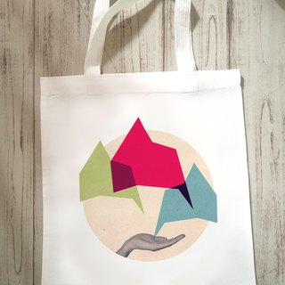 Move the Hill Canvas Tote Bag