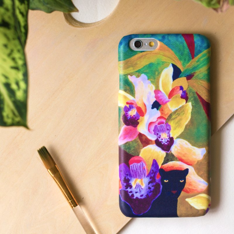 Meet the Panther into the jungle. Matte Case (iPhone, HTC, Samsung, Sony)