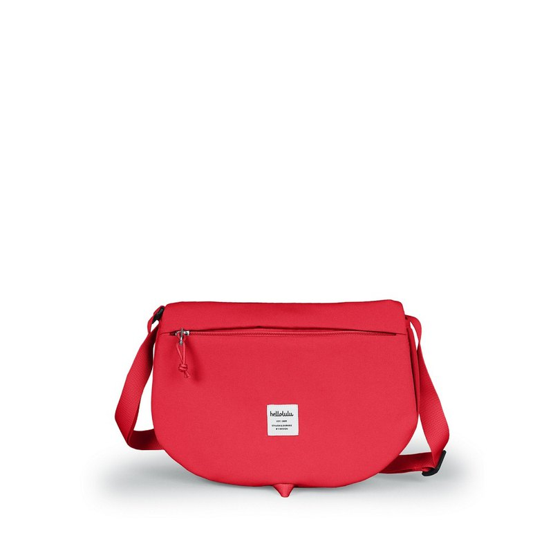 hellolulu ELVIN Light Travel Outdoor Crossbody Bag-Tomato Red