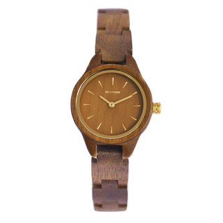 WILS FABRIK - Cozet - Walnut Lumber Wood Watch