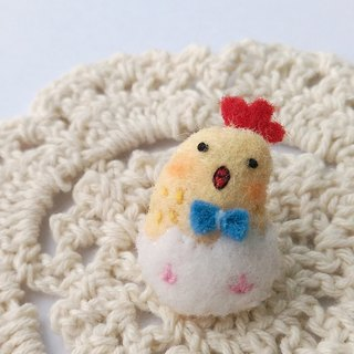 Small chicken badges hanging magnets