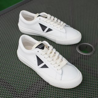TOUCH GROUND Vintage Triangle WHITE BLACK P00000BX
