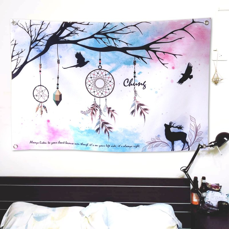 Customized hang cloth dream catcher