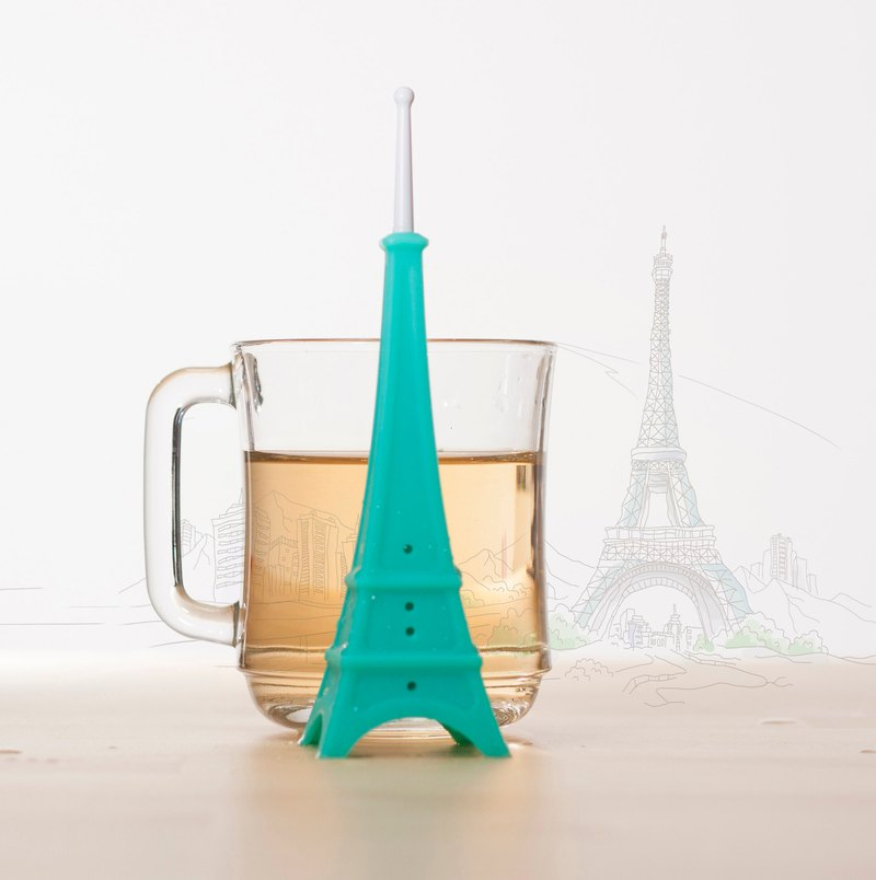 TEA TOWER tea infuser | tea strainer