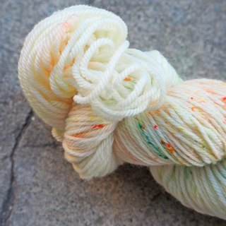 Hand dyed the line. Fruit Tea (Sport 100% Merino)