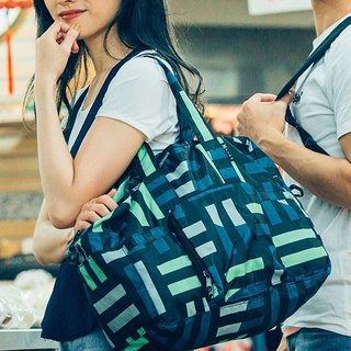 Valentine's Gifts For Her Water Repellent Foldable Duffel Bag -- Helsinki