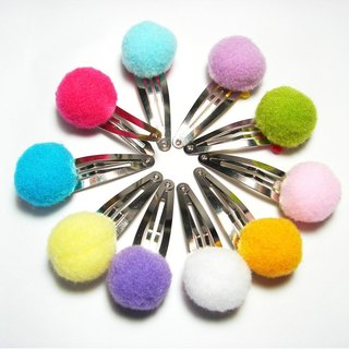 Cheerful. Macaron color pops folder / children hairpin. A total of ten colors. Limited buy one get one
