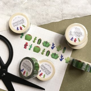 Sprinkle Prickles - Cactus Washi Tape
