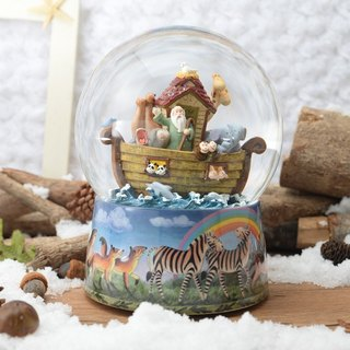 Noah 's Ark Bible stories God Christ gift birthday gift crystal ball music box
