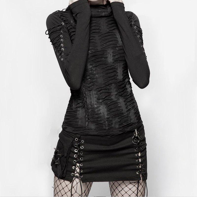 蒸汽龐克不對稱短裙 / 即將絕版
