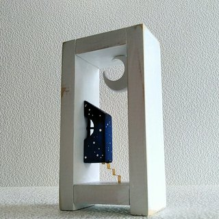 2-side Moon & House