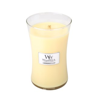 【VIVAWANG】 WW22oz Fragrance Cup Wax (Narcissus Lemongrass) Delicate green herb flower, reconcile your thoughts, relax