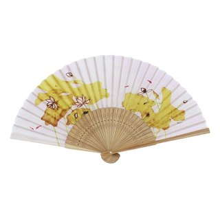 Folding fan - Changyu lotus