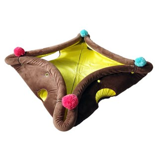 [Hide&Seek escaping from a variety of pet mats] - Caramel Pudding Pet Bed / Cat Tunnel / Pet Mat