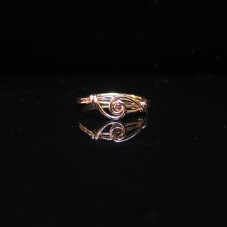 Winwing wire braided rings - [] across the universe. Commemorative ring. Valentine's Ring