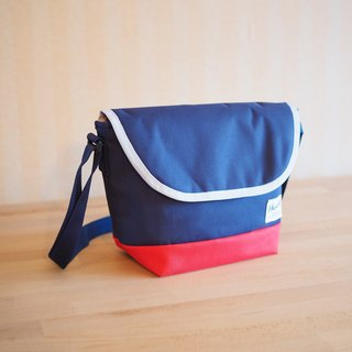 SIDEBAG Navy / Red