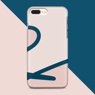 Ribbon-cream phone case