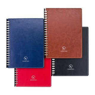 Loose leaf removable A5 notebook- PU leather-bulk pack