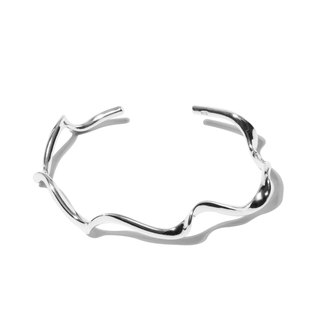 ■ CHIEH-CHIEH ■ Sterling Silver Water Wrist Ring