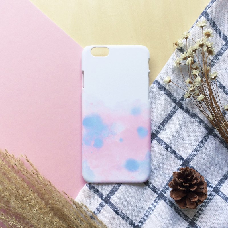 Cute Blue with Pale Dogwood. Matte Case( iPhone, HTC, Samsung, Sony, LG, OPPO)