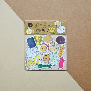 Oden to cook what / sticker set