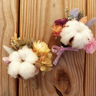 Flower and flower brooch wedding hand made with flowers ||