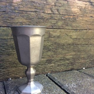 Silver Baroque Champagne Cup