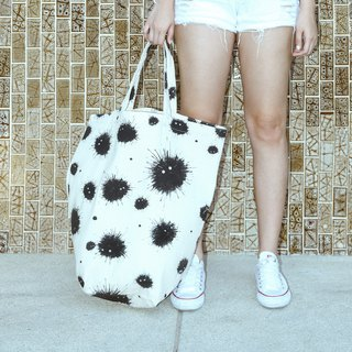 Urchin Oversize Canvas Bucket Bag