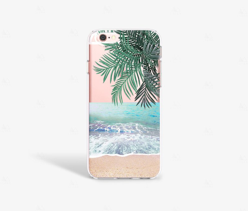 Beach iPhone 7 Case Clear iPhone 8 Case Clear iPhone 7 Plus Clear Case