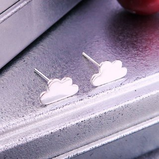 Earrings Cloud 925 Silver Earrings