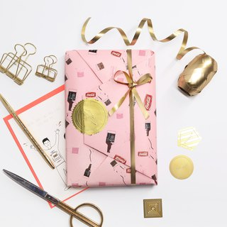 Rollingux Nuoting Gift Wrapping Paper Series | Valentine's Day