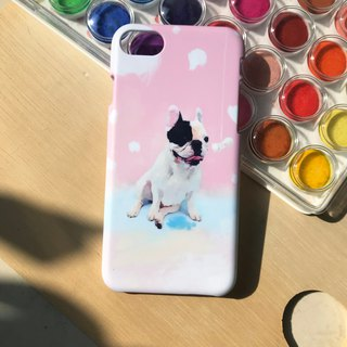 Dog and bone(pink). Matte Case (iPhone, HTC, Samsung, Sony)